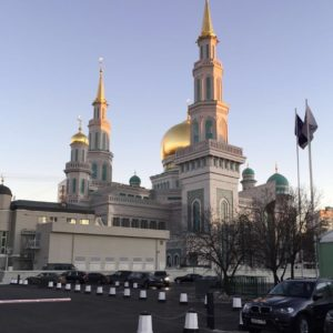 Known as the Moscow Cathedral Mosque this beautiful structure replaceshellip