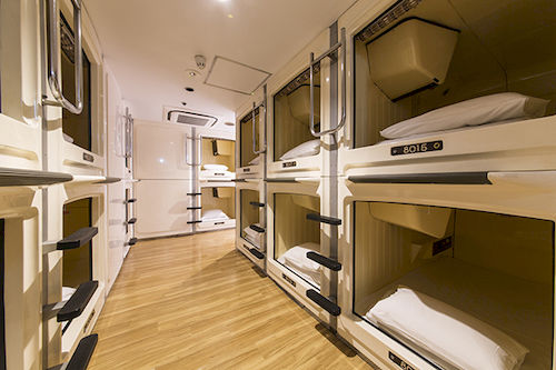 Cubicle Hotel Rooms Japan