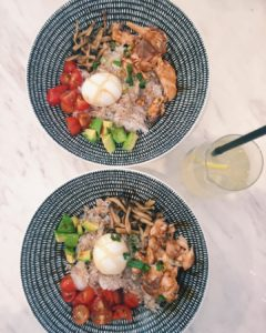The soyglazed salmon ricebowl at All Things Delicious is absolutelyhellip