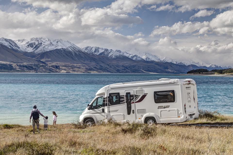 Motorhome Southern Alps