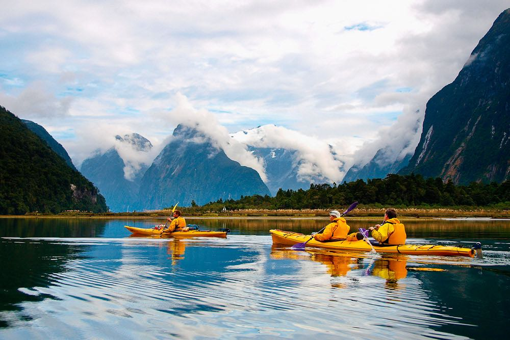 Milford Sound kayak